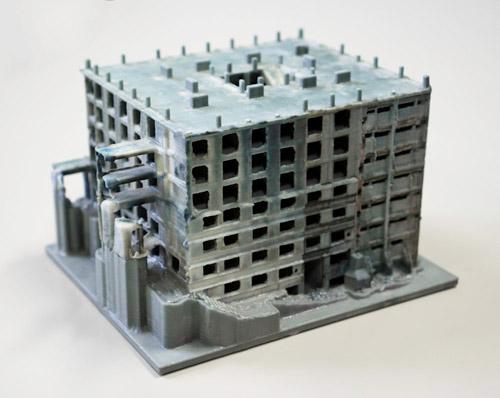 30号棟3Dプリンター出力